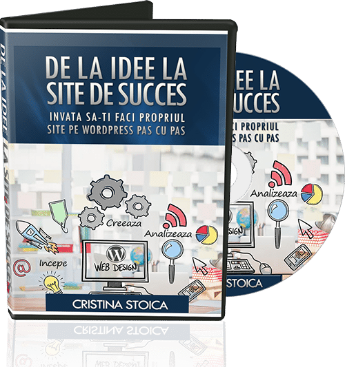 dvd curs de wordpress