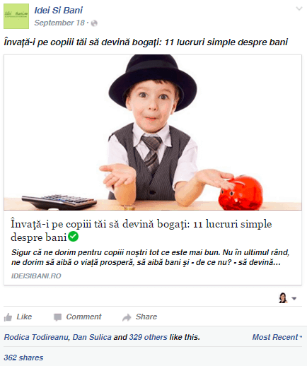 postare virala educatie financiara