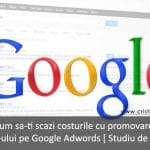 promovare site pe google adwords