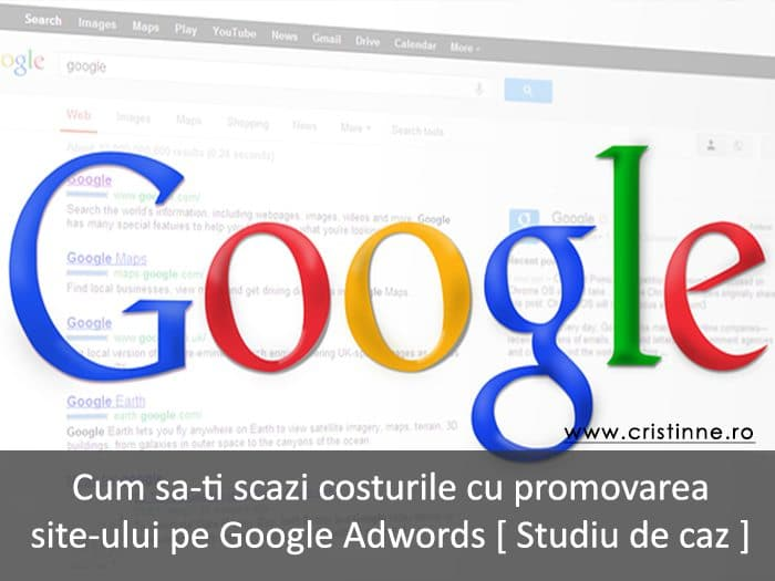 promovare site google adwords