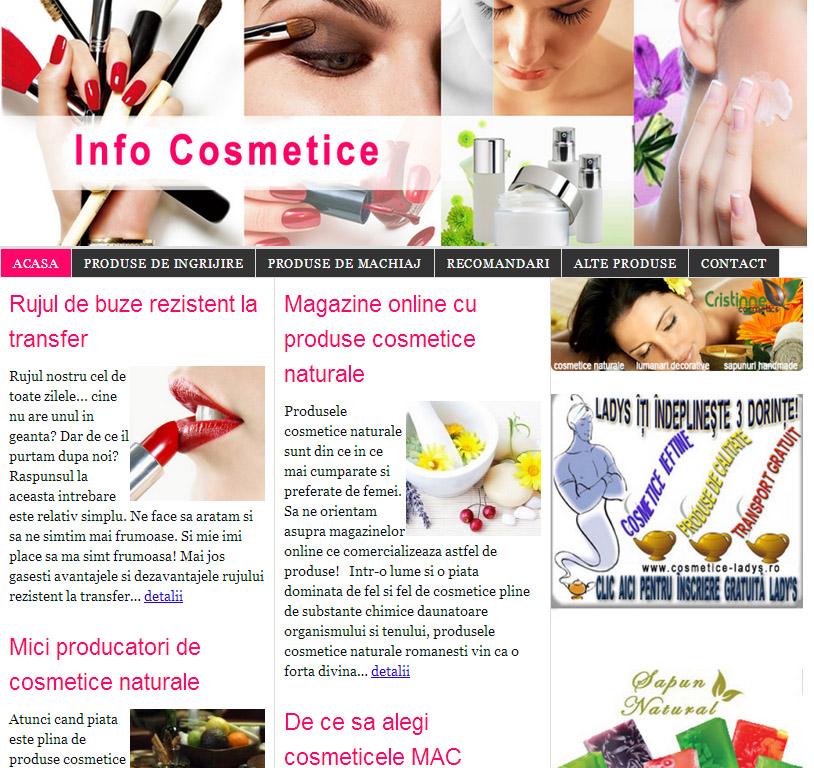 design site infocosmetice